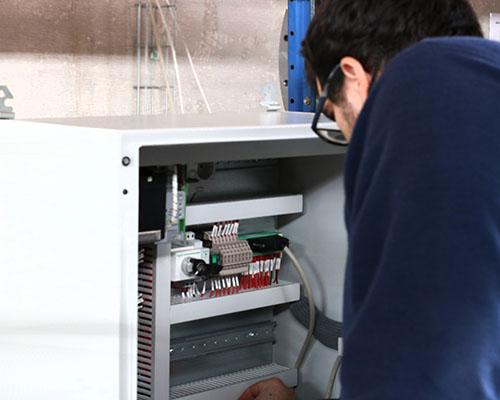 Formação para técnicos de manutenção